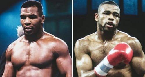 مبارزه روی جونز با مایک تایسون
