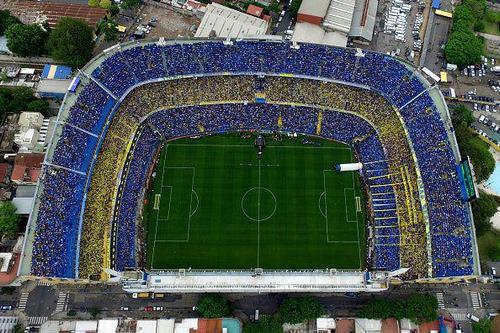 استادیوم آلبرتو خ. آرماندو بوکاجونیورز