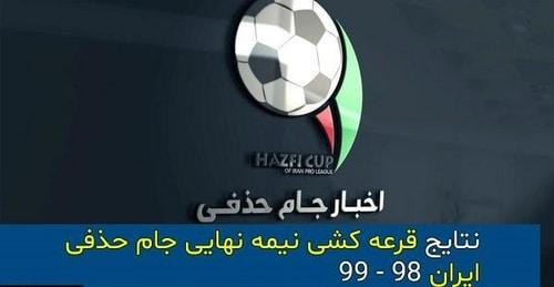 مسابقات جام حذفی ایران